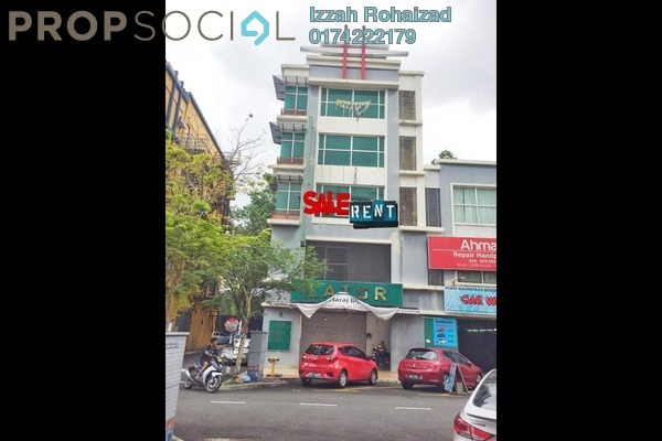 For Rent Shop at Section 16, Shah Alam Freehold Unfurnished 0R/0B 17k