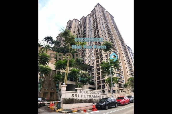 Condominium For Sale in Sri Putramas II, Dutamas Freehold Unfurnished 0R/0B 365k