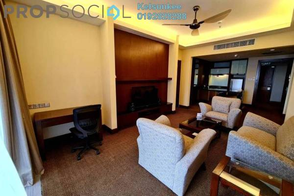 For Rent Condominium at The Gardens, Mid Valley City Freehold Fully Furnished 1R/1B 3k