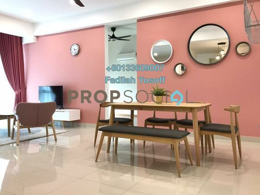 For Rent Condominium at Lake Point Residence, Cyberjaya Freehold Fully Furnished 3R/3B 3k