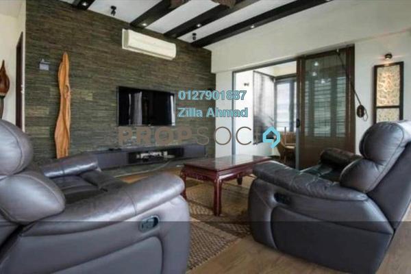 For Rent Condominium at Saujana Residency, Subang Jaya Freehold Fully Furnished 3R/1B 6k