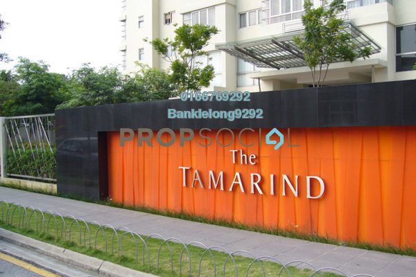 Condominium For Sale in The Tamarind, Sentul Freehold Semi Furnished 4R/3B 486k