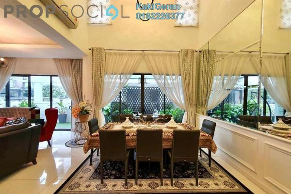 For Sale Semi-Detached at Clover @ Encorp Cahaya Alam, Shah Alam Freehold Semi Furnished 4R/5B 1.55m
