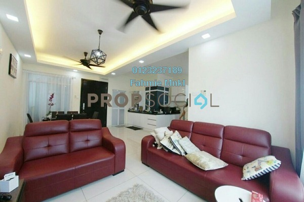 For Sale Condominium at Saville @ The Park, Pantai Freehold Semi Furnished 3R/2B 650k