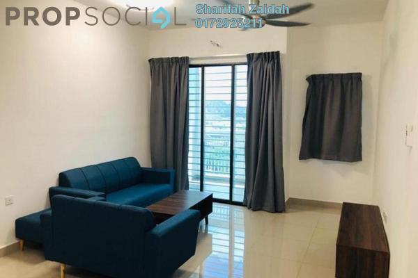 Apartment For Rent in Precinct 11, Putrajaya Freehold Semi Furnished 3R/2B 1.6k