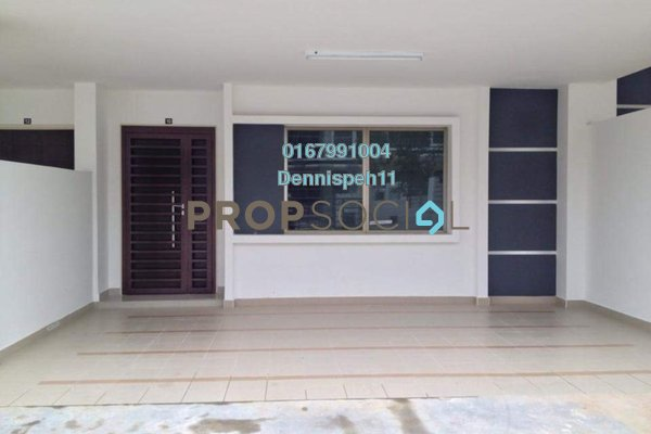 For Rent Terrace at Taman Seri Austin, Johor Bahru Freehold Unfurnished 4R/4B 1.4k