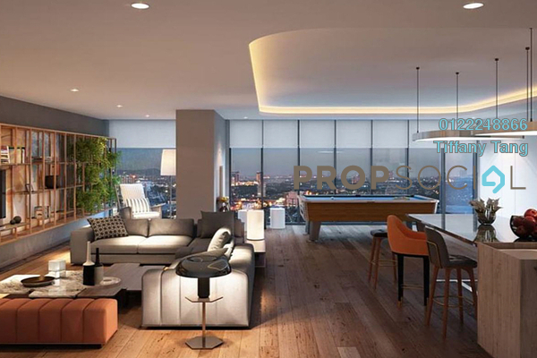 Serviced Residence For Sale in ViiA Residences @ KL Eco City, Mid Valley City Freehold semi_furnished 1R/1B 1.2m