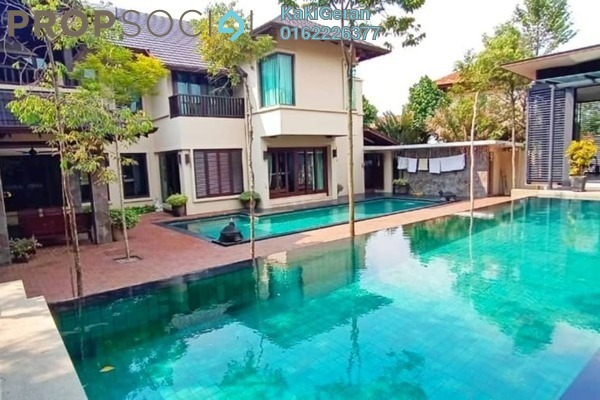 For Sale Bungalow at Kayangan Heights, Shah Alam Freehold Semi Furnished 6R/7B 2.65m