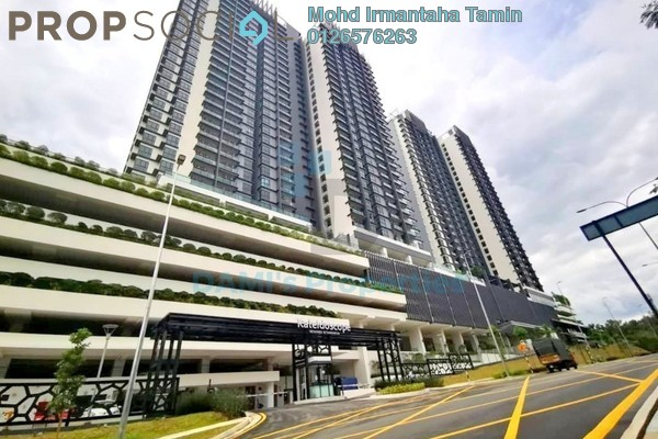 Condominium For Rent in Kaleidoscope, Setiawangsa Freehold semi_furnished 3R/2B 2.5k