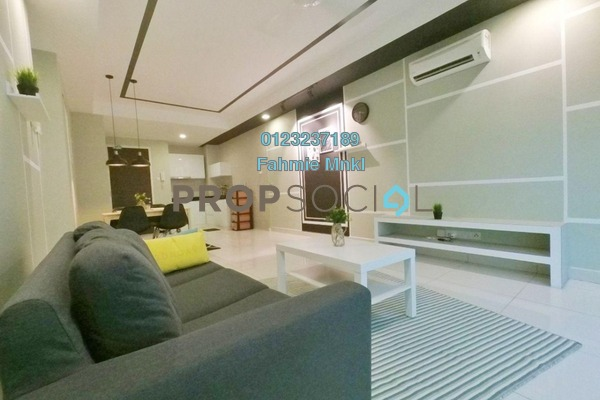 For Sale Condominium at Central Residence, Sungai Besi Freehold Fully Furnished 2R/2B 430k