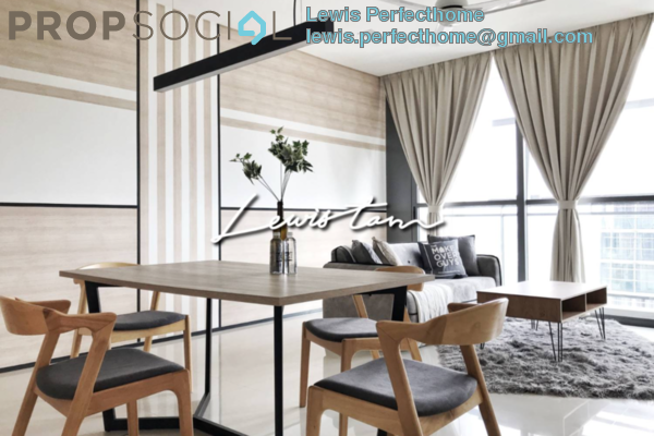 Condominium For Sale in The Fennel, Sentul Freehold Fully Furnished 3R/3B 780k