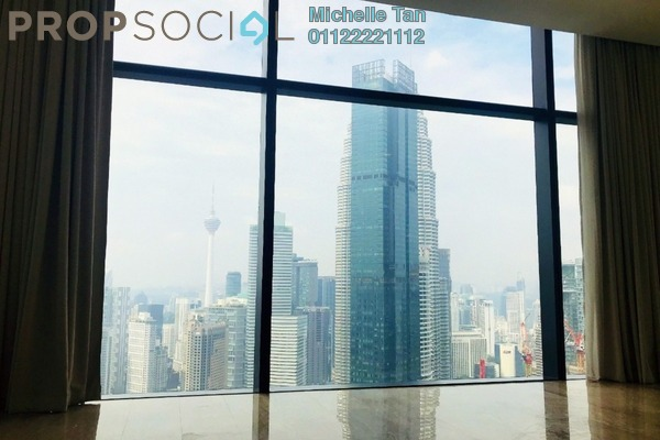 Condominium For Rent in The Troika, KLCC Freehold Semi Furnished 4R/4B 23k