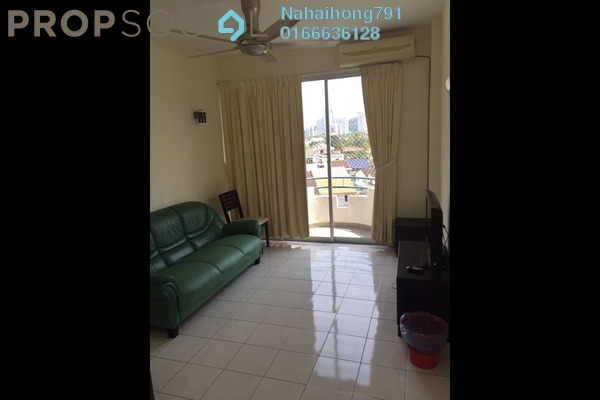 Apartment For Rent in Desari Apartment, Air Itam Freehold Fully Furnished 3R/2B 1k