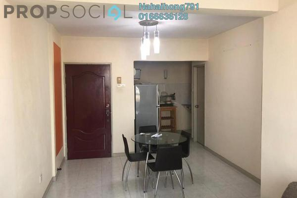 For Rent Apartment at Jelutong Heights, Bukit Jelutong Freehold Fully Furnished 3R/2B 1.1k