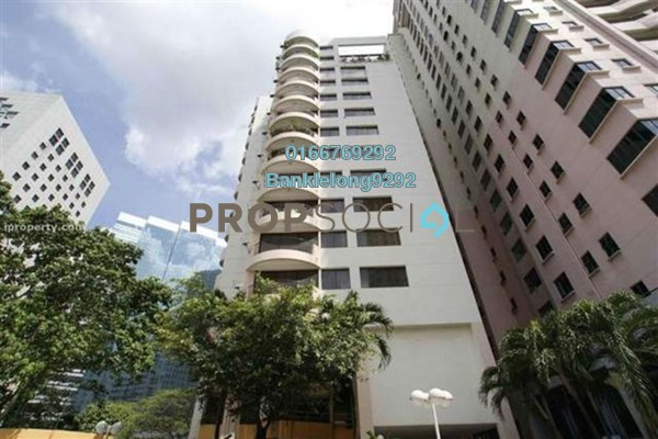 Condominium For Sale in Downtown Condominium, Bukit Ceylon Freehold Semi Furnished 3R/2B 567k