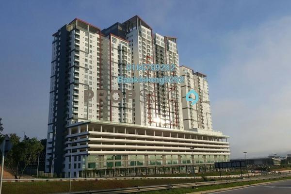 Condominium For Sale in Silk Sky, Balakong Freehold Semi Furnished 3R/2B 349k