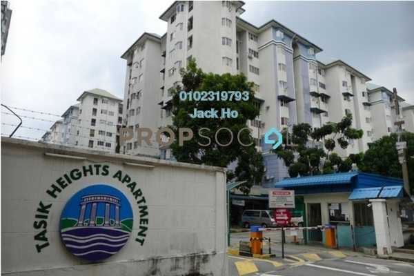 Apartment For Sale in Tasik Heights Apartment, Bandar Tasik Selatan Freehold Unfurnished 3R/2B 250k