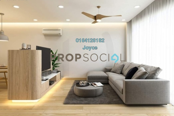 Condominium For Sale in M Luna, Kepong Freehold Semi Furnished 3R/2B 428k