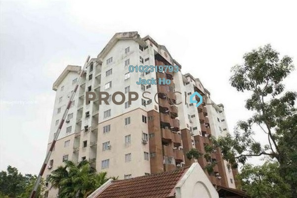 Apartment For Sale in Tasik Heights Apartment, Bandar Tasik Selatan Freehold Unfurnished 3R/2B 235k
