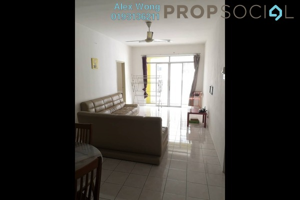 For Rent Apartment at Platinum Hill PV5, Setapak Freehold Fully Furnished 4R/2B 1.4k