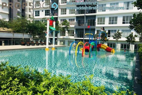 For Rent Condominium at BSP 21, Bandar Saujana Putra Freehold Fully Furnished 4R/4B 1.5k