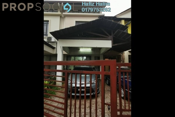 For Rent Terrace at Jalan Jeriji, Bukit Jelutong Freehold Semi Furnished 4R/4B 2k
