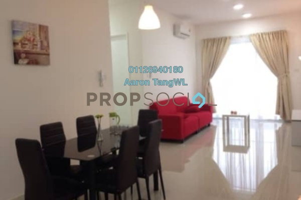 For Sale Condominium at Scenaria, Segambut Freehold Fully Furnished 3R/2B 620k