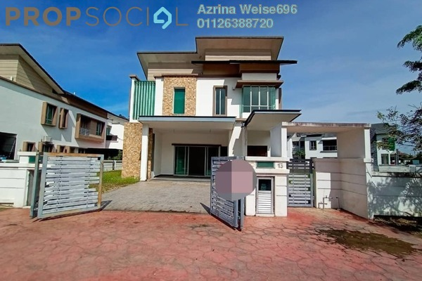 Semi-Detached For Rent in D'Kayangan, Shah Alam Freehold Semi Furnished 7R/6B 5k