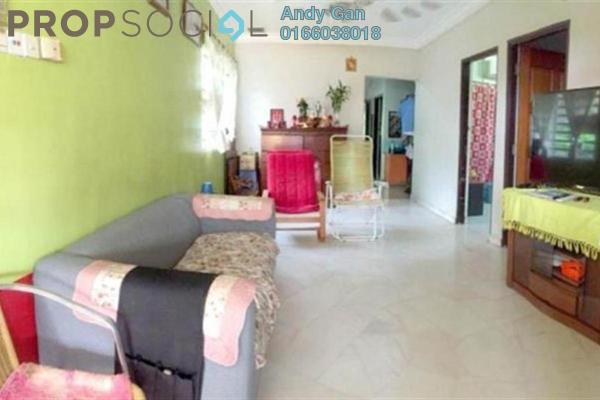 Terrace For Sale in Kepong Baru, Kepong Freehold Semi Furnished 3R/2B 599k