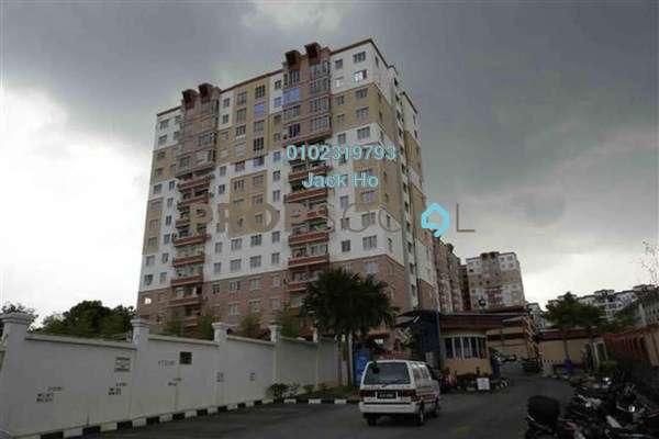 For Rent Apartment at Seri Pinang Apartment, Seri Kembangan Freehold Unfurnished 3R/2B 1k