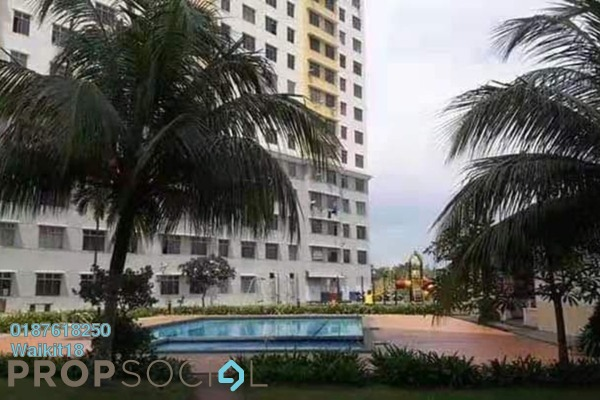 Apartment For Sale in Indah Court Apartment, Bukit Indah Freehold Unfurnished 3R/2B 270k