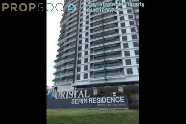 Condominium For Sale in Serin Residency, Cyberjaya Freehold Unfurnished 3R/2B 565k
