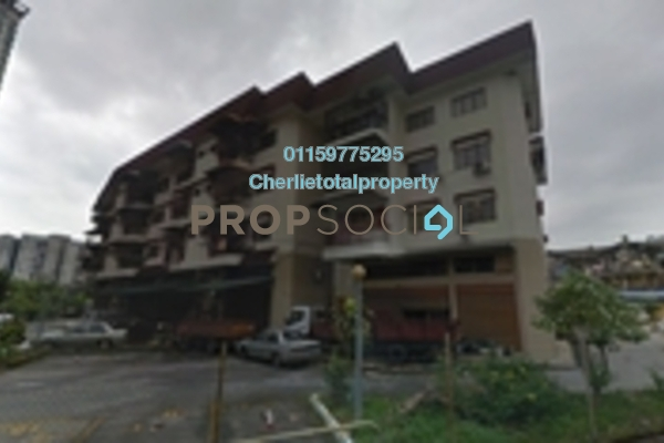 Condominium For Rent in Taman P Ramlee, Setapak Freehold Semi Furnished 2R/1B 1k