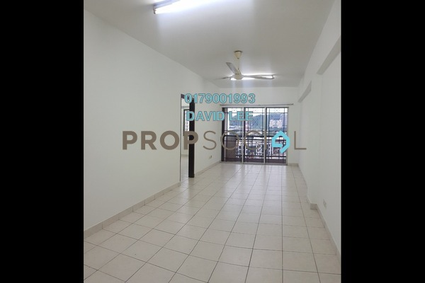 For Rent Apartment at Pelangi Damansara, Bandar Utama Freehold Semi Furnished 3R/2B 1.05k