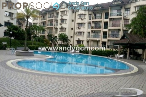 For Rent Condominium at Tiara Damansara, Petaling Jaya Freehold Semi Furnished 3R/2B 1.9k