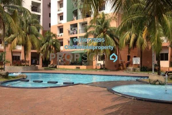 For Rent Condominium at City Garden Palm Villa, Pandan Indah Freehold Semi Furnished 3R/2B 1.3k