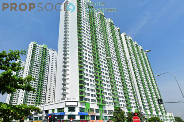 For Rent Condominium at OUG Parklane, Old Klang Road Freehold Semi Furnished 3R/2B 1.25k