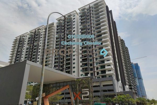For Rent Condominium at X2 Residency, Puchong Freehold Semi Furnished 4R/5B 1.5k