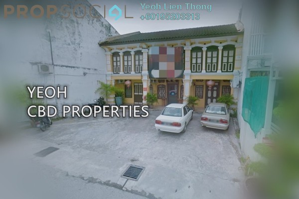 For Rent Shop at Jalan Siam, Georgetown Freehold Unfurnished 3R/3B 4.5k
