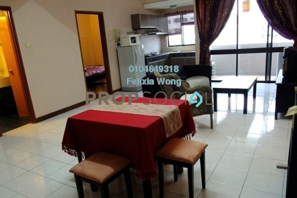 For Rent Condominium at Angkasa Impian 1, Bukit Ceylon Freehold Fully Furnished 3R/2B 3.7k