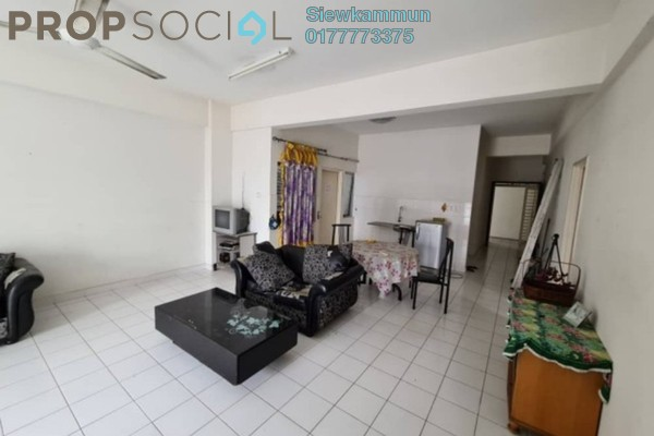 For Rent Condominium at Plaza Menjalara, Bandar Menjalara Freehold Semi Furnished 3R/2B 1.5k