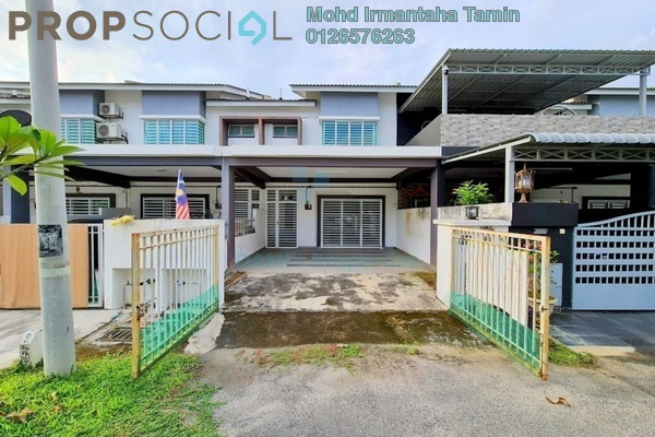 For Rent Terrace at Taman Emas, Dengkil Freehold Semi Furnished 4R/3B 1.3k