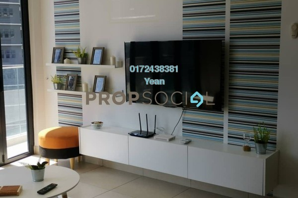 For Rent Serviced Residence at KL Gateway Premium Residences, Bangsar South Freehold Fully Furnished 2R/2B 3.8k