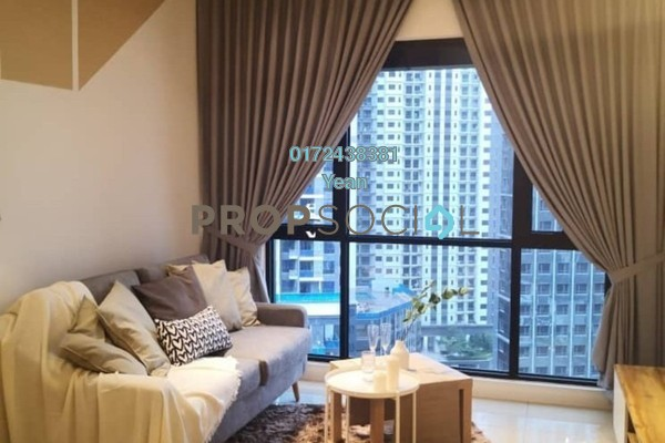 For Rent Serviced Residence at Novum, Bangsar South Freehold Fully Furnished 1R/1B 2.6k