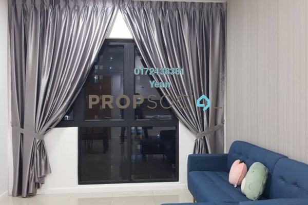 For Rent Serviced Residence at Novum, Bangsar South Freehold Fully Furnished 1R/1B 2.4k