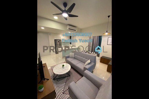 For Rent Condominium at The Ridge @ KL East, Melawati Freehold Fully Furnished 2R/2B 2.7k