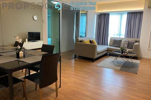 For Rent Serviced Residence at i-Zen Kiara I, Mont Kiara Freehold Fully Furnished 2R/2B 2.8k