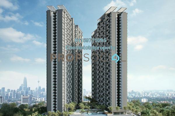 For Rent Condominium at Seasons Garden Residences, Wangsa Maju Freehold Semi Furnished 3R/2B 1.65k