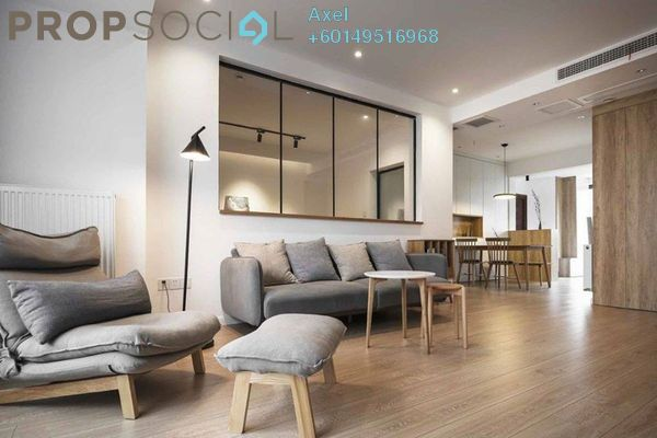 Condominium For Sale in Segar View, Cheras Freehold Fully Furnished 3R/3B 480k