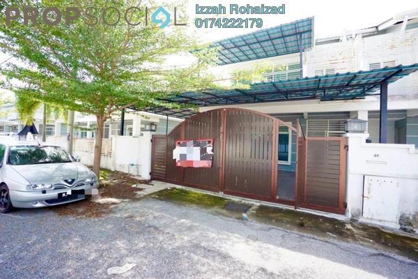 Terrace For Sale in Royal Garden, Bandar Saujana Putra Freehold Semi Furnished 4R/4B 630k